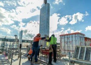 installation-of-preform-columns