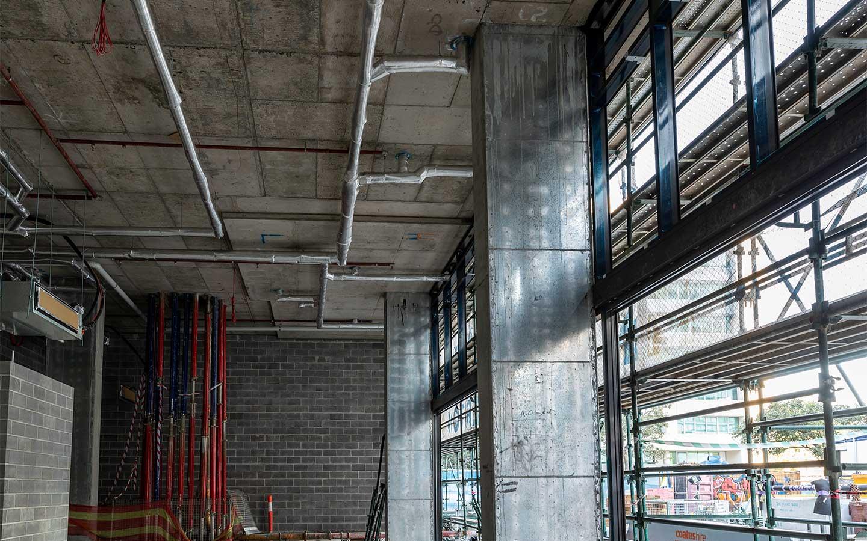 Slip Joint Preformed Columns